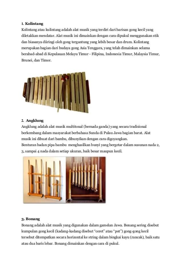 Alat Musik Khas Indonesia Bagian Timur : musik, indonesia, bagian, timur, Musik, Tradisional, Indonesia, Bagian, Timur, Berbagai