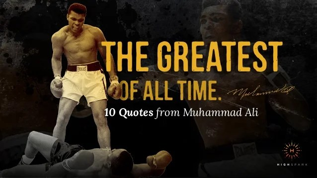 the greatest of all