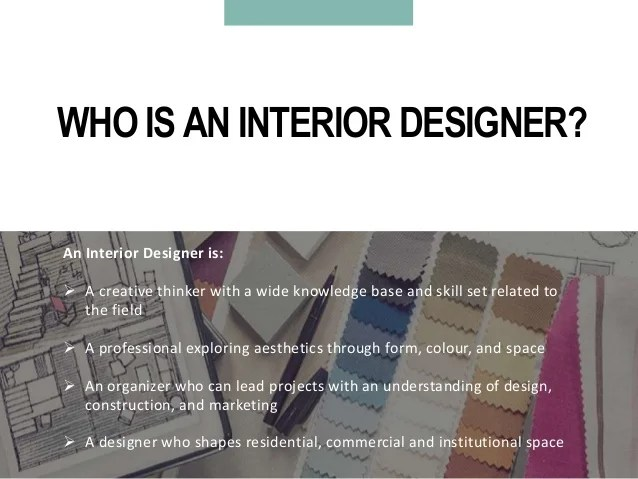 All About The Interior Design Course