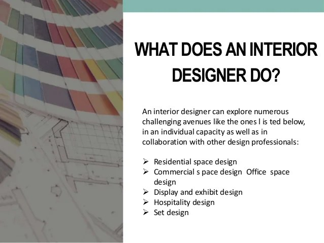 What Does A Interior Designer Do Talentneeds Com