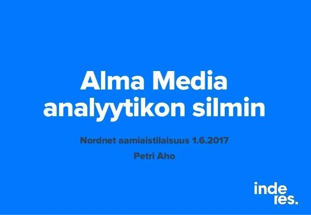 Alma Media Inderes 01 06 2017