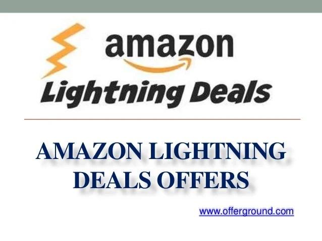 amazon lightning deals offers