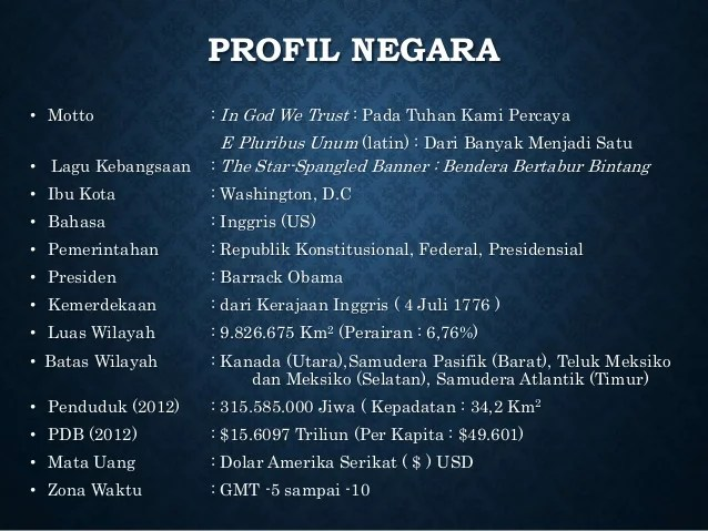 Amerika Serikat - Satria Dipa Nusantara - SMAK Mgr ...