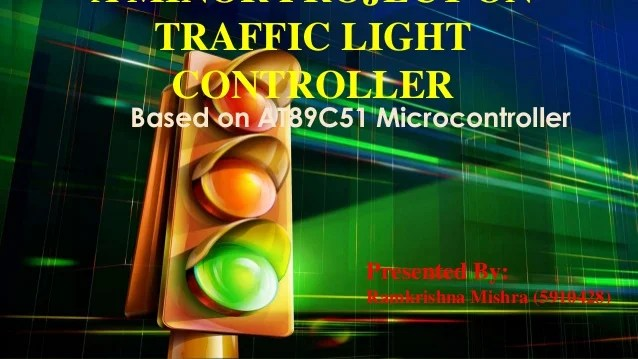 Traffic Light Controller Electronics Project