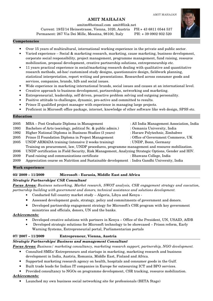 Corporate Social Responsibility Resume Examples  Examples Of Resumes