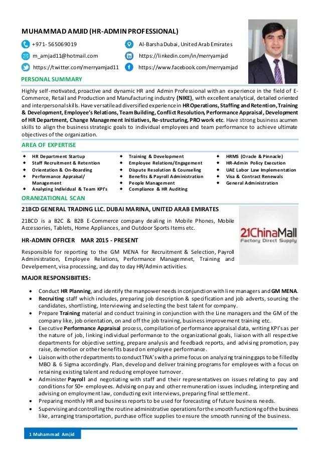 resume linkedin format
