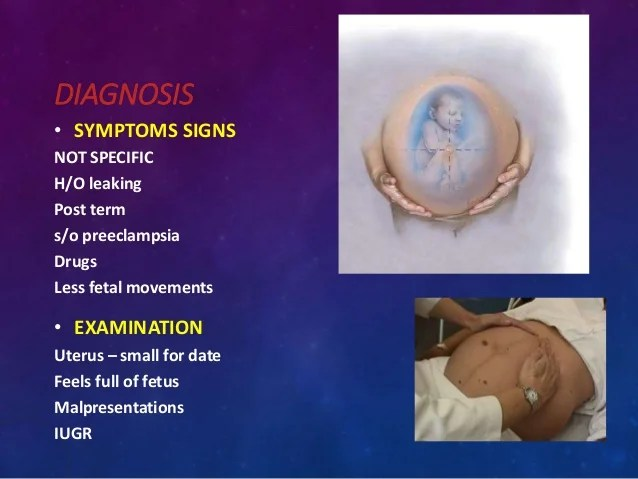 Amniotic fluid & its disorders