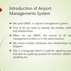 Airport Er Diagram Human Spine Database Project Management System 8