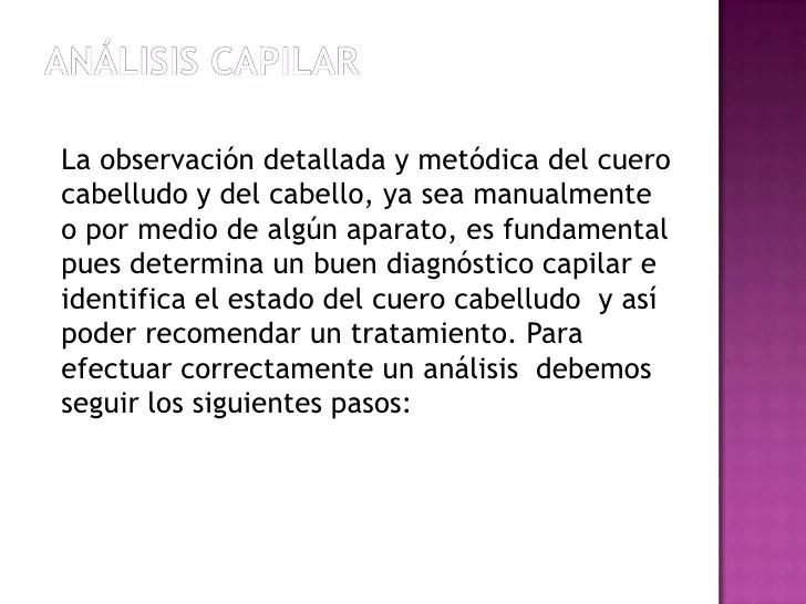 Analisis capilar
