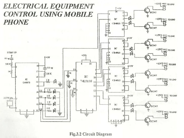 Electrical Project Circuit Diagram – Comvt Info