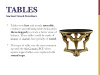 Ancient Greece Interior Design & Furniture