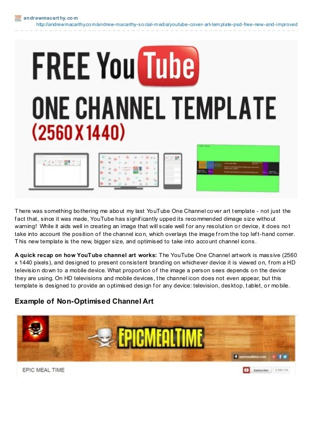 2560x1440 Template : 2560x1440, template, YouTube, Cover, Template, Photoshop,