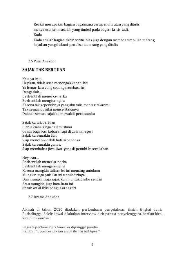 8 Puisi buatan anak SD ini isinya lugu banget, bikin