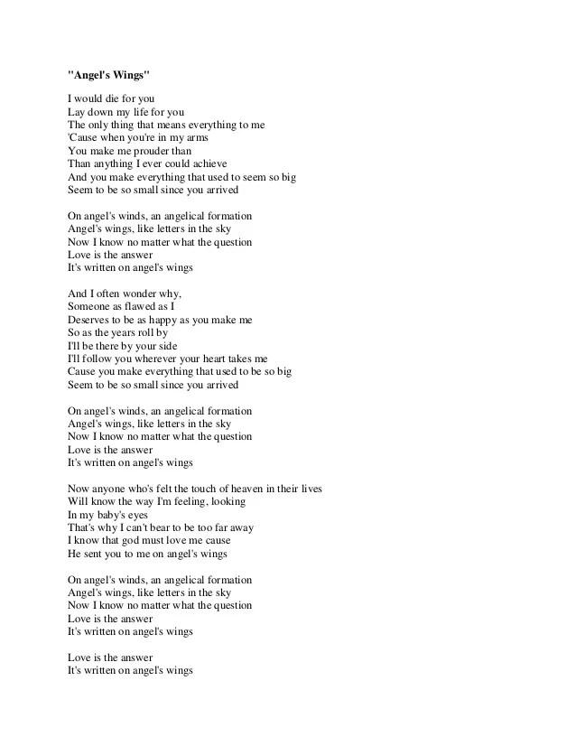 Lirik Lagu There You Ll Be : lirik, there, Angel