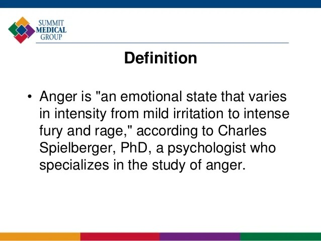 Anger and Your Child: Practical Solutions for Managing a ...