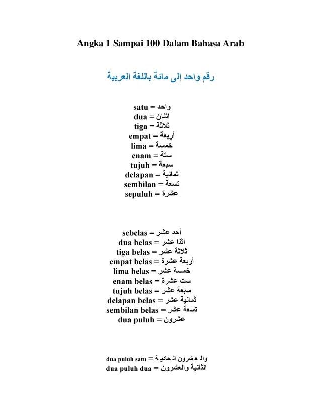 Angka Dalam Bahasa Arab 1 1000 : angka, dalam, bahasa, Angka, Sampai, Dalam, Bahasa, Mapadpadua