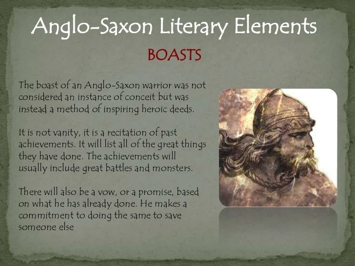 Anglo Saxon Language And Literary Terms
