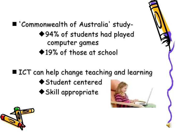 The Benefits Of Educational Computer Games