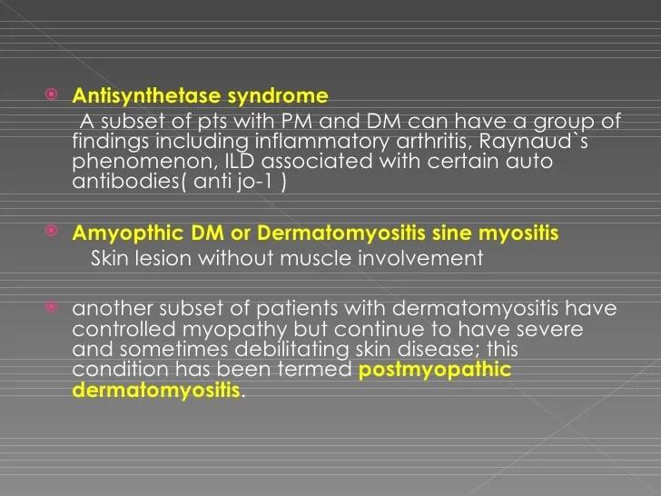 A Case of Dermatomyositis