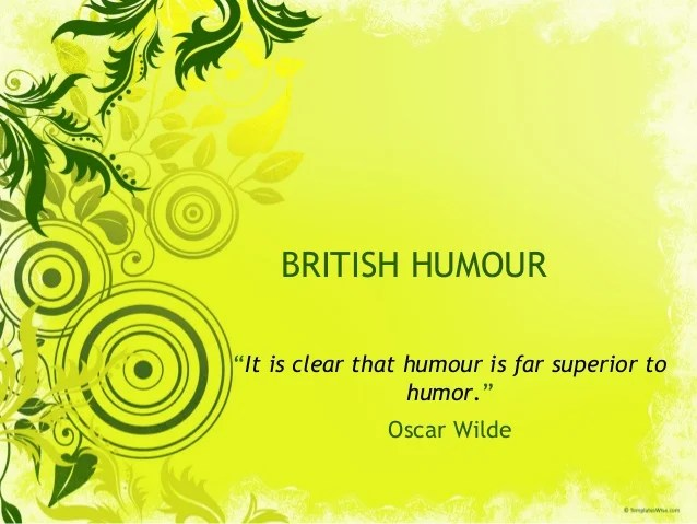 Sense Humour Or Humor