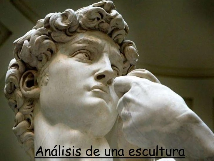 Análisis de una escultura