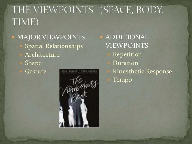 Anne Bogart's Viewpoints