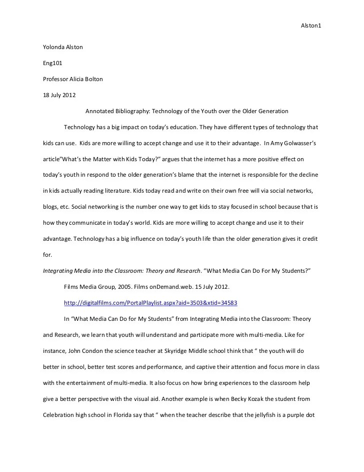 effect essay example