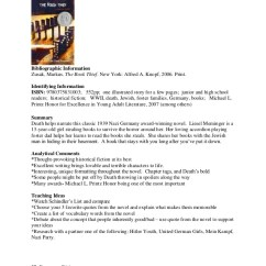 Plot Diagram For The Book Thief Furnas R44 Drum Switch Wiring Kim S Annotated Bibliogrphy 26