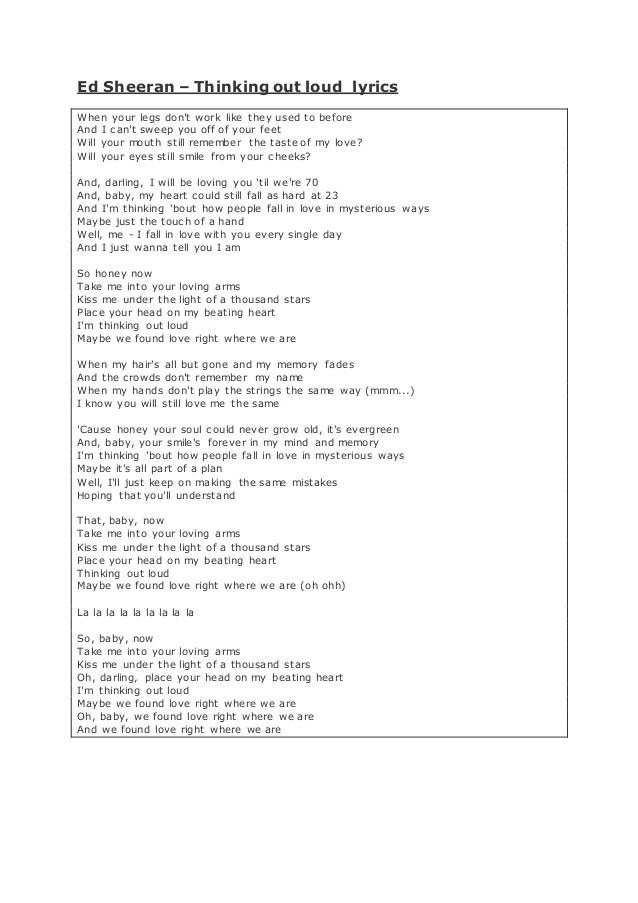 We Found Love Right Where We Are Lyrics : found, right, where, lyrics, Sheeran, Annotated, Lyrics, Ashraf