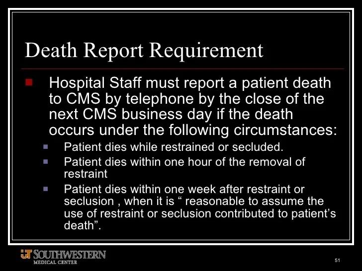 Hospital Bed Restraints