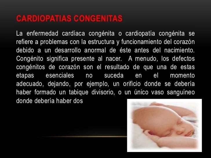 Anomalias congenitas del corazon