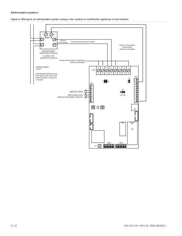 edwards signaling ans25mdr installation manual 8 638?resize=638%2C826&ssl=1 edwards addressable fire alarm wiring diagram the best wiring Painless Wiring Diagrams at aneh.co