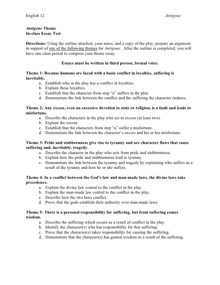 road to perdition theme essay prompts