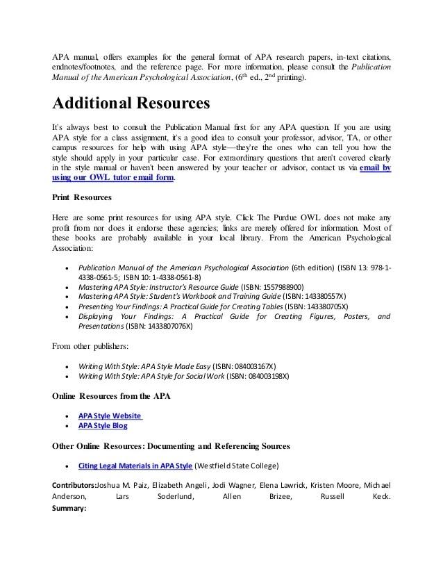 Apa Endnotes Format Hizli Rapidlaunch Co