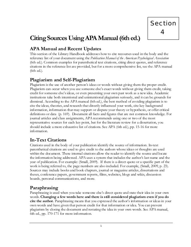 Literature Review For Apa Format