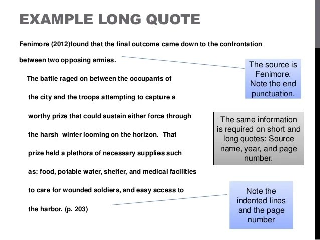 Quote Apa Format Amazing Block Quote Format Apa Style Picture