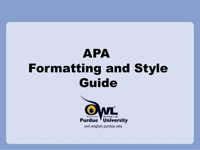 Apa Powerpoint Examples Hospi Noiseworks Co