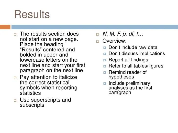 APA Version 6 Quick Guide