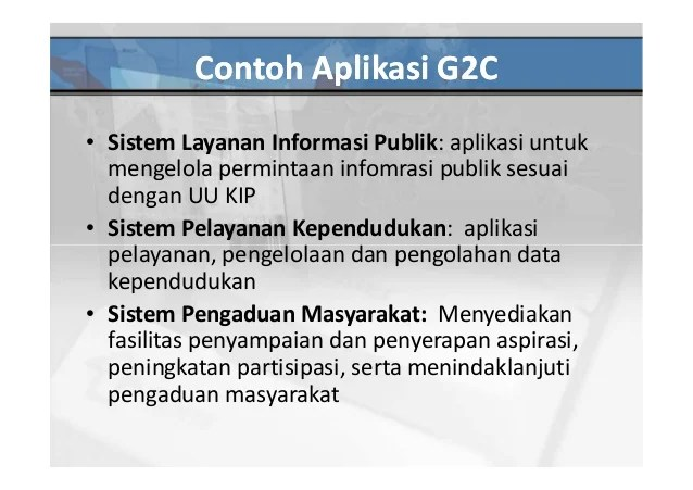 Egov Application In Indonesia
