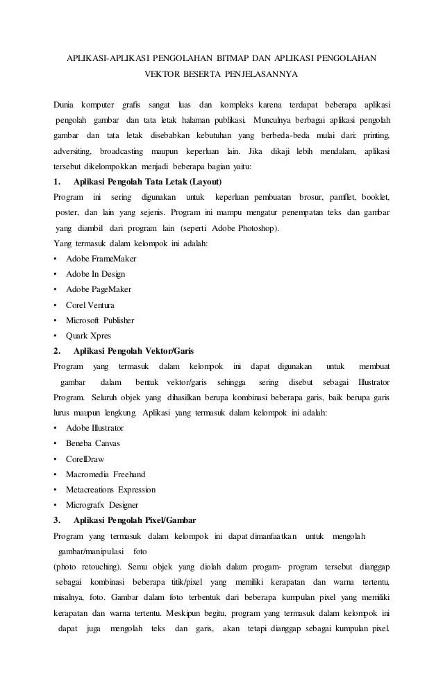 Aplikasi Bitmap Dan Vektor : aplikasi, bitmap, vektor, Aplikasi, Vektor, Berbasis, Bitmap..