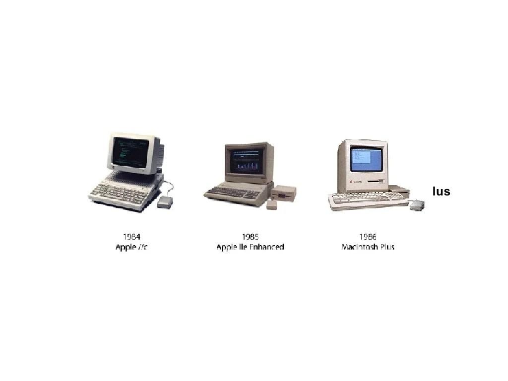1984 Apple //c, 1985 Apple