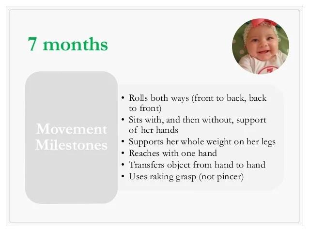 Movement milestones months also approach to developmental delay rh slideshare
