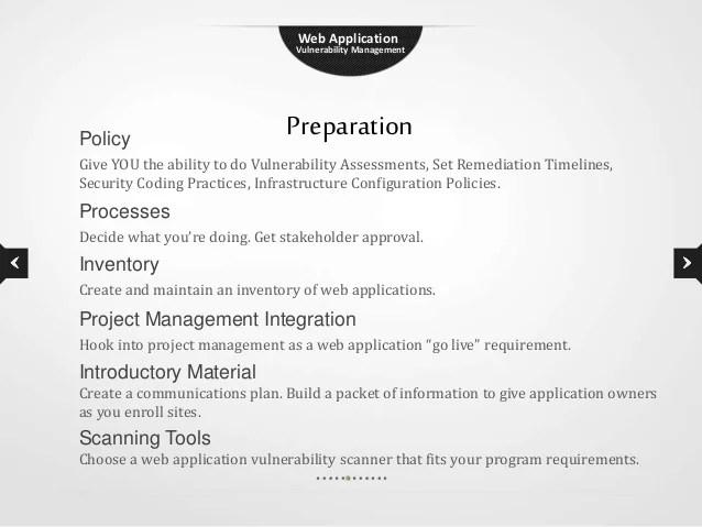 Web Application Security Framework