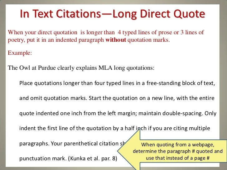Citing An Essay Interpreting Citations Citing Sources Research