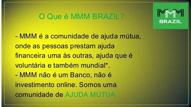 Apresentação Mmm Brasil