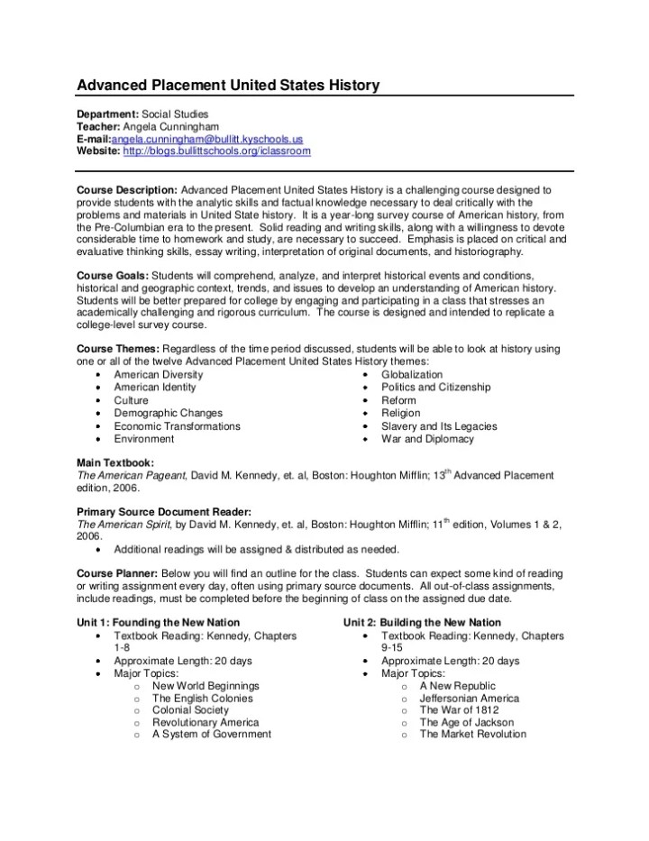 ap us history sample essays Us history essay writing / exam information the ap us history exam is 3  hours and 15 minutes long and includes both a  sample essay prompts:  evaluate.