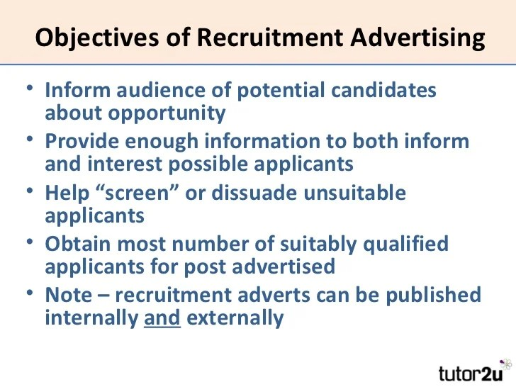 job objectives examples