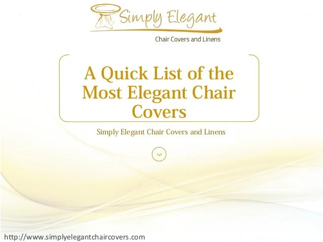 simply elegant chair covers and linens hanging egg swing a quick list of the most http