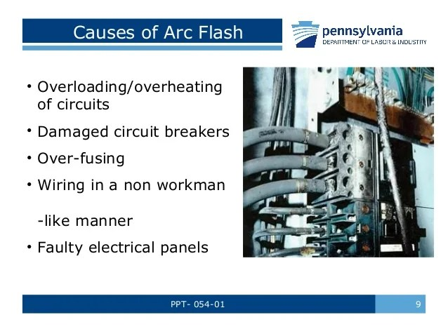 Light Wiring Diagram House Arc Flash Safety Training By Pennsylvania Department Of