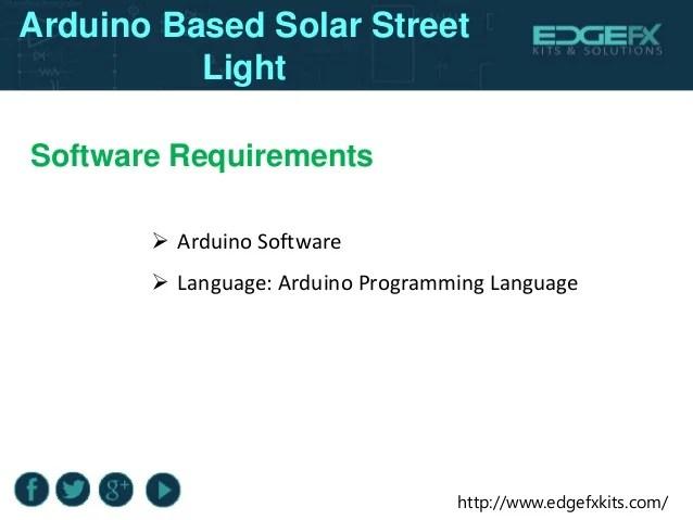 Led Solar Street Light Circuit Project Part2 Electronic Circuit